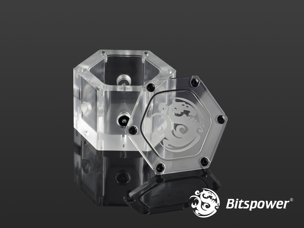 Tank Bitspower Water Tank Hexagon – Acrylic (Limited Edition)
