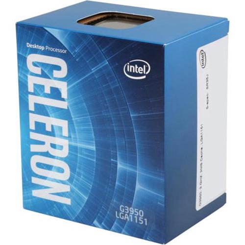 CPU Intel Celeron G3950 3.0 GHz / 2MB / HD 610 Series Graphics / Socket 1151 (Kabylake)