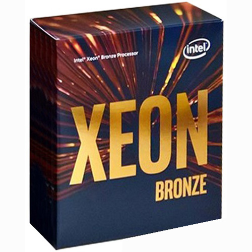 CPU Intel Xeon Bronze 3106 1.70GHz / 11MB / 8 Cores, 8 Threads / Socket P (LGA3647) (Intel Xeon Scalable)