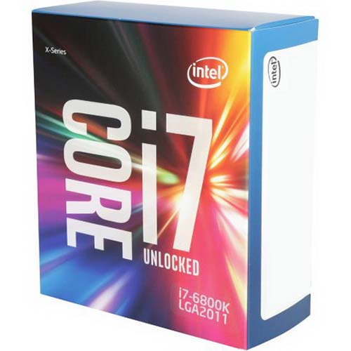 Intel Core i7-6800K 3.4 GHz / 15MB / Không có IGP / 6 Cores12 ThreadsQPI / Socket 2011 (No Fan)