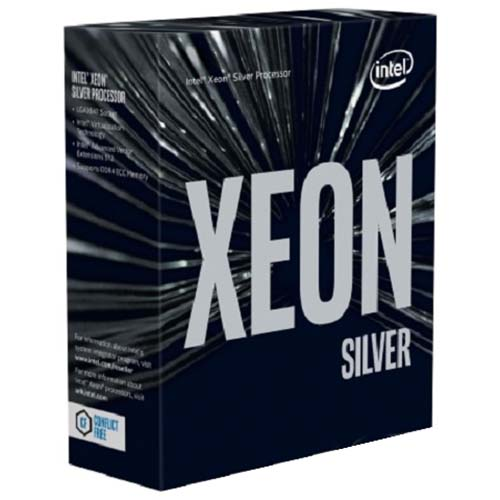 CPU Intel Xeon Silver 4110 2.10GHz / 11MB / 8 Cores, 16 Threads / Socket P (LGA3647) (Intel Xeon Scalable)