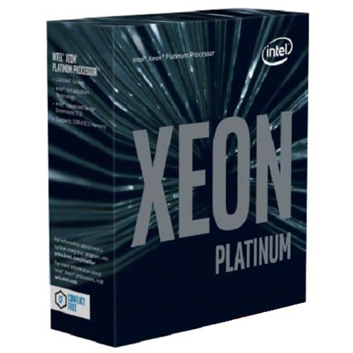 CPU Intel Xeon Platinum 8168 2.70GHz / 33MB / 24 Cores, 48 Threads / Socket P (LGA3647) (Intel Xeon Scalable)