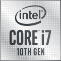 CPU Intel Core i7-10700 2.9 GHz (Max Turbo 4.8 GHz) / (8C/16T) / 16MB Cache)