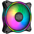 Fan case Coolermaster MASTERFAN MF120 HALO BLACK EDITION (pack3)