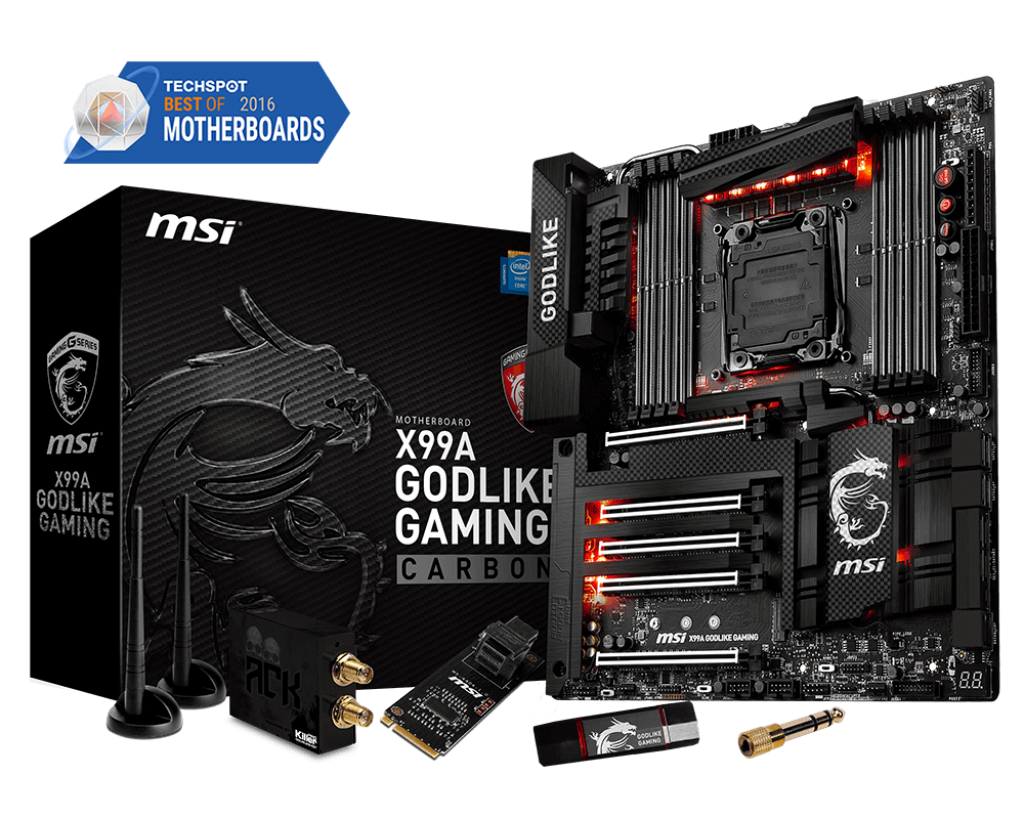 Mainboard MSI X99A GODLIKE GAMING CARBON EDITION
