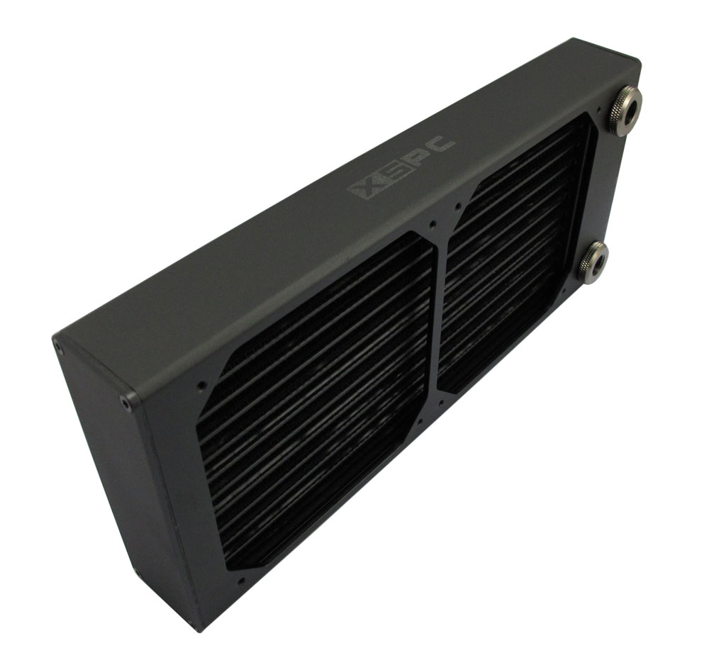 Radiator XSPC AX240 Dual Fan Radiator (Black)