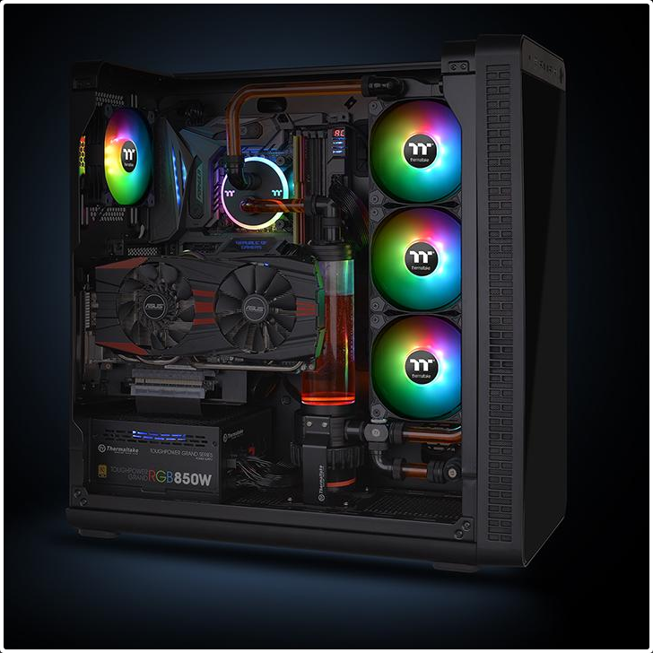 FAN Case THERMALTAKE PURE PLUS 12 RGB Premium