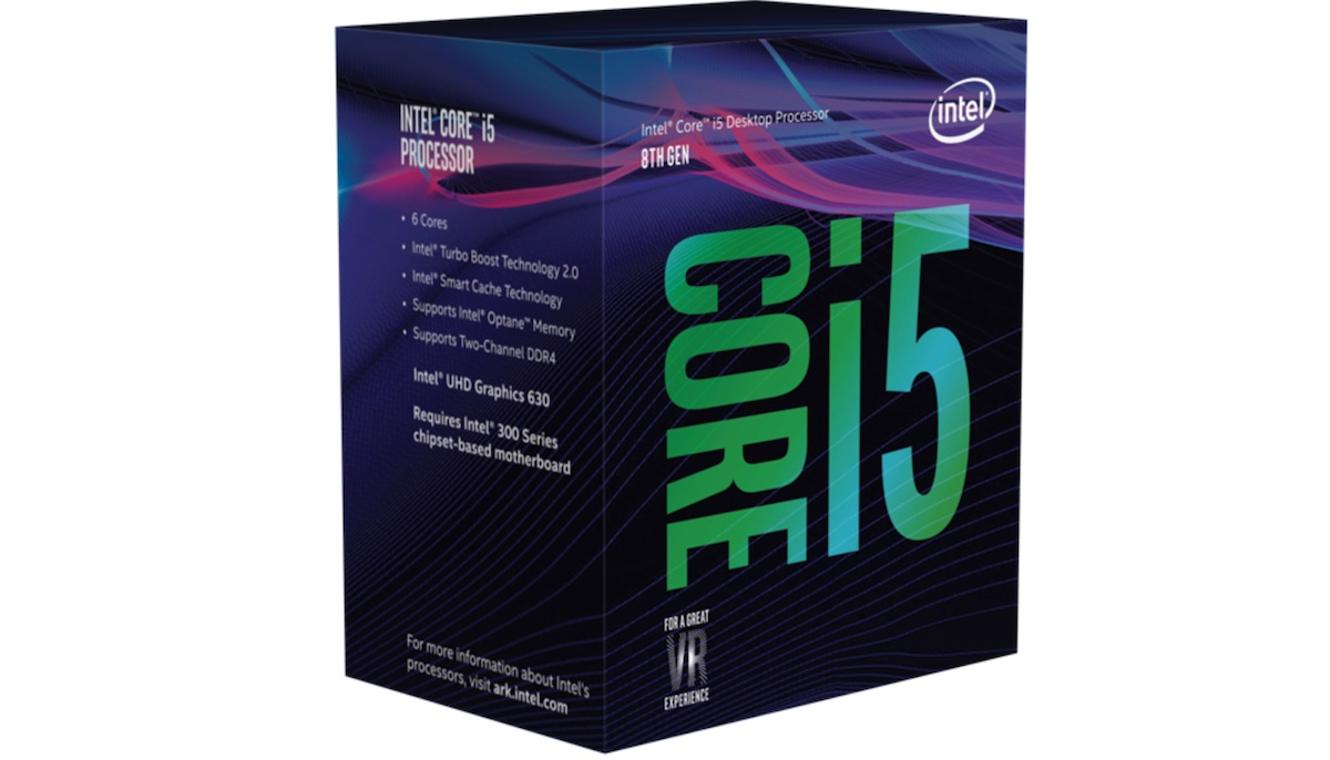 CPU Intel Core i5 8500 3.0Ghz Turbo Up to 4.1Ghz / 9MB / 6 Cores, 6 Threads / Socket 1151 v2 (Coffee Lake )