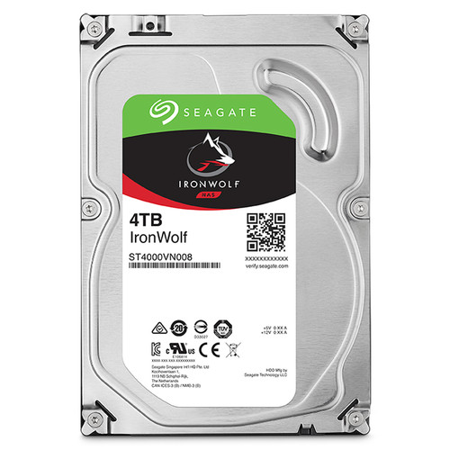 HDD Seagate IRONWOLF NAS 4TB/5900,Sata3,64MB Cache (ST4000VN008).