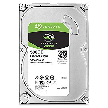 HDD Seagate Barracuda 500GB/7200 Sata 128MB 3.5 (ST500DM009)