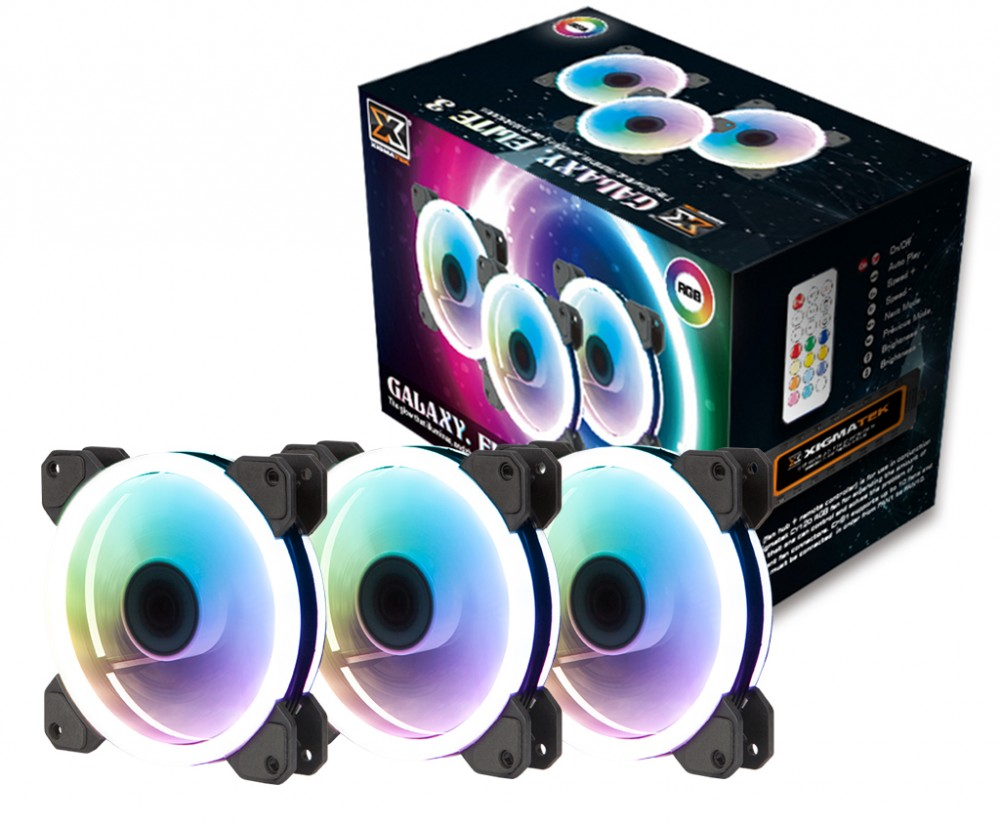 Fan Xigmatek Galaxy Elite Pack 3