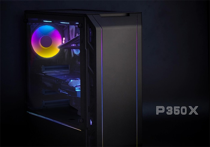 Vỏ case PHANTEK P350X - DIGITAL RGB GAMING CASE