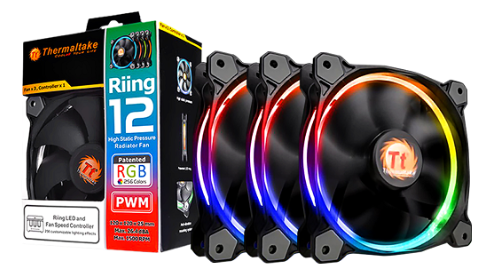 FAN THERMALTAKE Riing 12 LED RGB