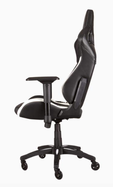 Ghế Chơi Game Corsair Gaming Chair T1 Race Black/White