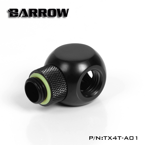Fitting Barrow T4 male-female (Black)