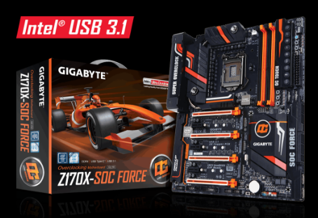 Mainboard GIGABYTE Z170X-SOC FORCE (rev. 1.0)