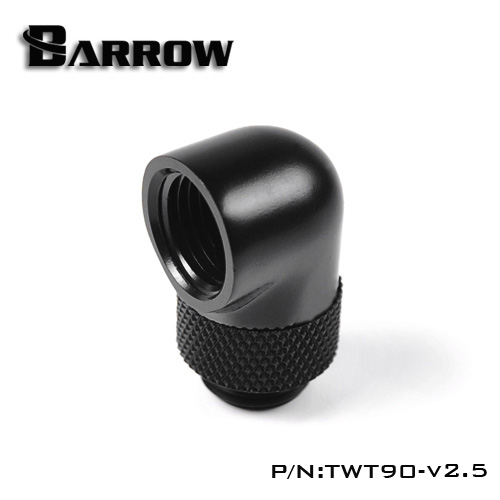 Fitting Barrow 90 Male-Female V2.5 (Black)