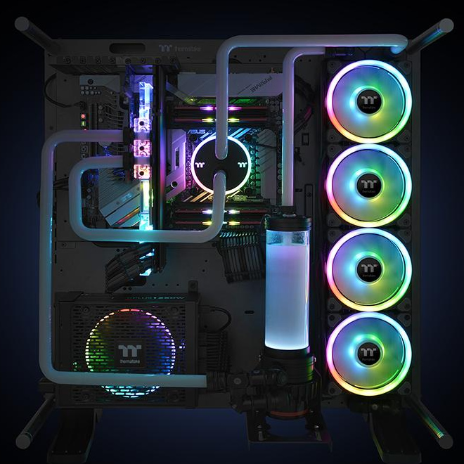FAN Case THERMALTAKE Riing Trio 12 LED RGB Premium