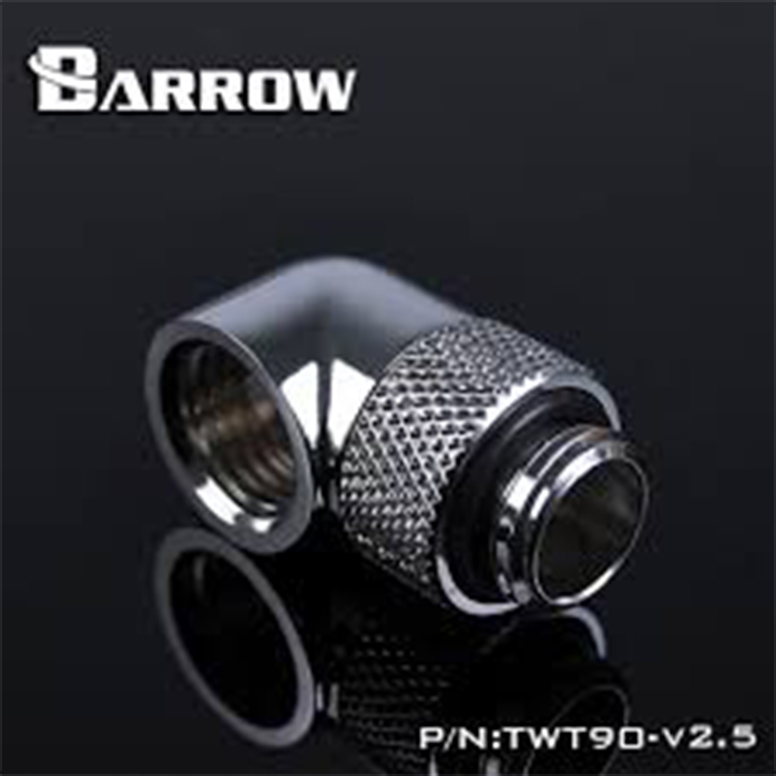 Fitting Barrow 90 Male-Female V2.5 (Silver)