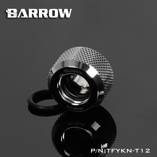 Fitting Barrow Hardtube Choice OD:12mm (Silver)