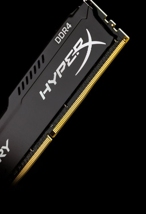 RAM Kingston DDR4 Fury HyperX 8GB 2133Mhz  CL14 DIMM  Black