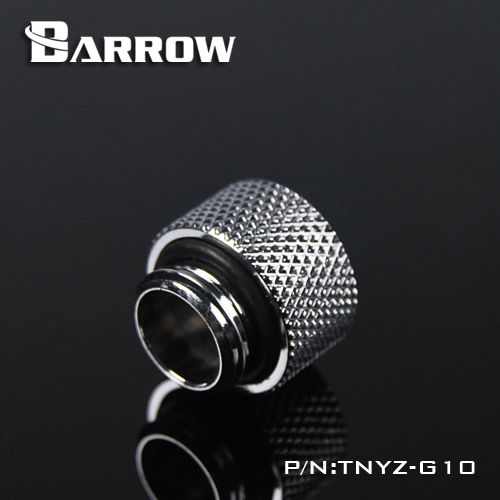 Fitting Barrow Exten 10mm male-female (Silver)