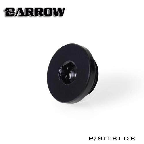 Fitting Barrow stop slim (Black)