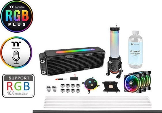 Tản nhiệt nước Pacific M360 Plus D5 Hard Tube Water Cooling Kit
