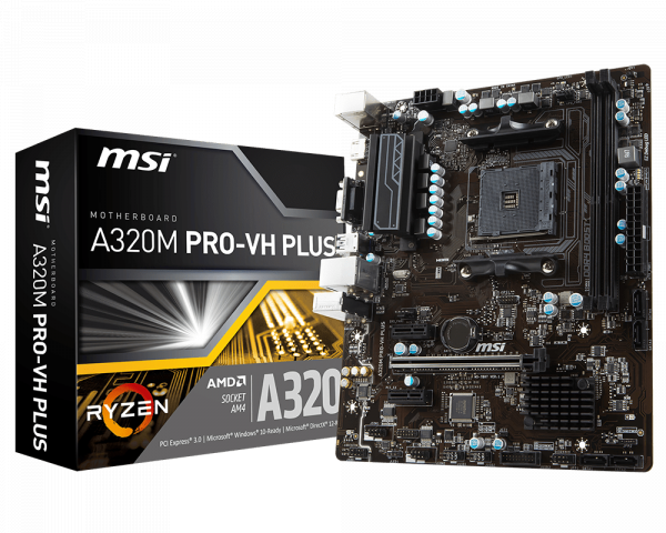 Mainboard MSI A320M Pro VH-Plus
