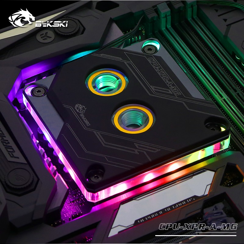 Block CPU Bykski Intel CPU-XPR-A-MG RGB (Black)