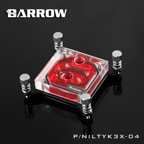 Block CPU Barrow Intel X99 (Clip black)