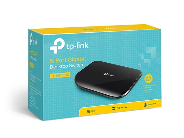 Switch TP-Link Pure-Gigabit TL-SG1005D