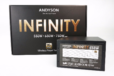Nguồn Andyson Infinity 650W 90 Plus Gold