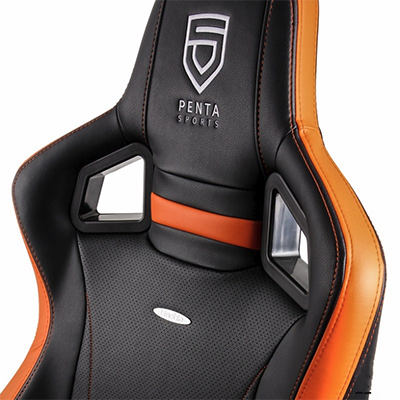 Ghế game Noblechairs EPIC Series PENTA Sports Black/Orange
