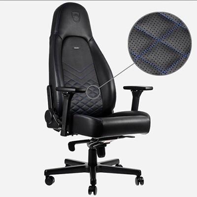 Ghế game Noblechairs ICON Series Black/Blue