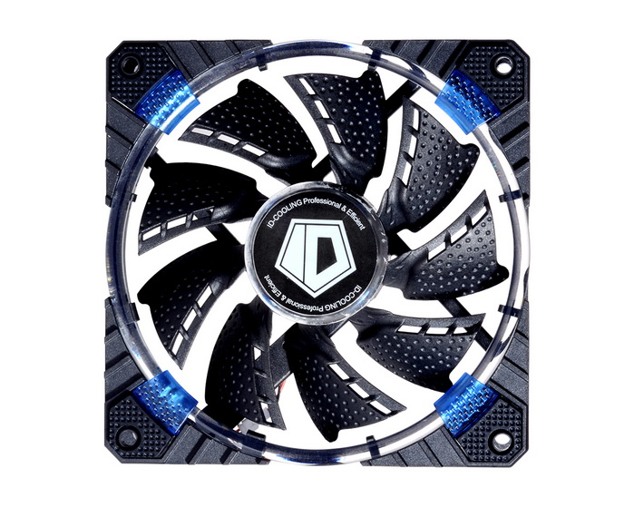 Fan Case ID Cooling CF-12025 Concentric Circular Blue