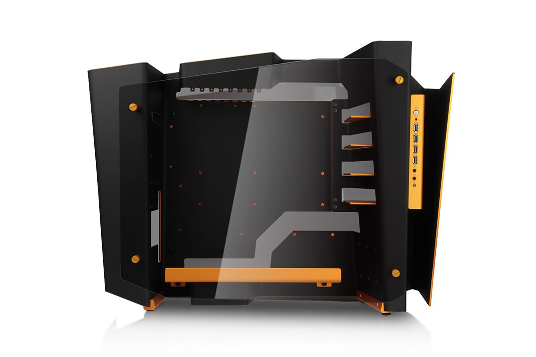 Vỏ case InWin S-Frame Black/Gold Limited Edition
