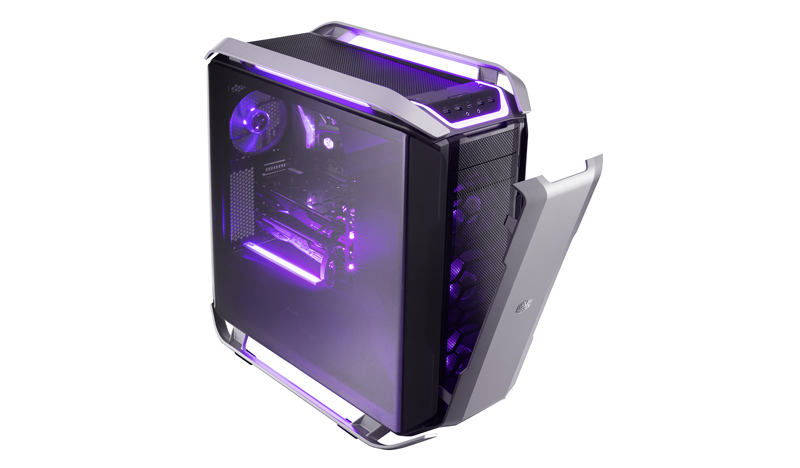 Vỏ case Cooler Master COSMOS C700P RGB Tempered Glass