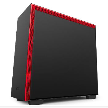 Vỏ case NZXT H700i SMART ATX CASE (MATTE BLACK/ RED)