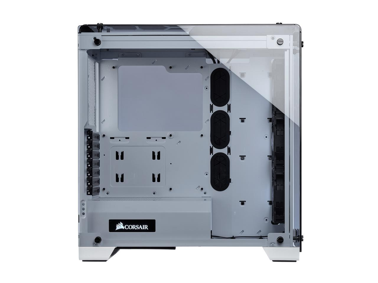 Vỏ case Corsair Crystal 570X RGB – WHITE