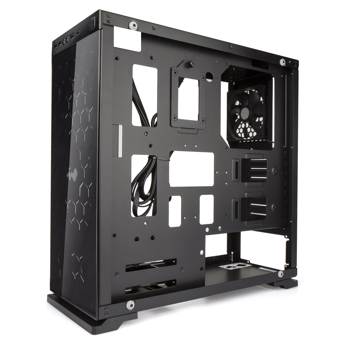 Vỏ case InWin 805 Aluminium Tempered Glass –  Mid-Tower ( Black)