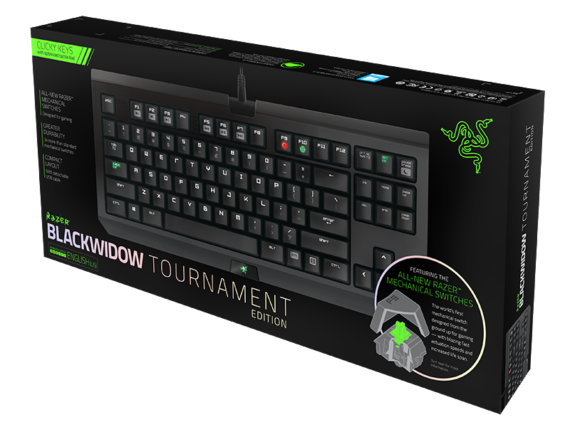 Bàn phím cơ Razer Blackwidow Tournament 2014