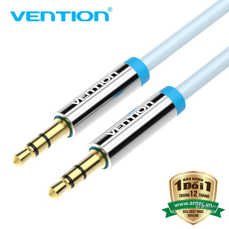 Cáp Audio Vention 2 đầu 3.5mm Male to Male 3m P350AC300-S