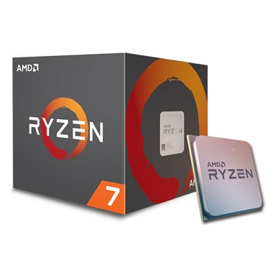 CPU AMD Ryzen 7 1700X 3.4 GHz (3.8 GHz with boost) / 20MB / 8 cores 16 threads / socket AM4 (no Fan).