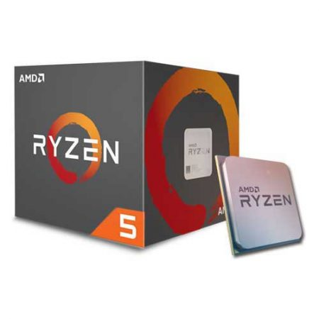 CPU AMD Ryzen 5 1400 3.2 GHz (3.4 GHz with boost) / 8MB / 4 cores 8 threads / socket AM4