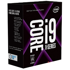 CPU Intel Core i9 – 7900X 3.3 GHz Turbo 4.3 Up to 4.5 GHz / 13.75 MB / 10 Cores, 20 Threads / socket 2066
