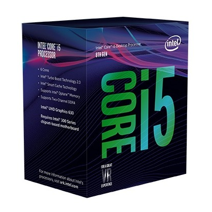 Cpu Intel Core i5-8600K (Up to 4.30Ghz/ 9Mb cache/ Socket 1151 v2) Coffee Lake