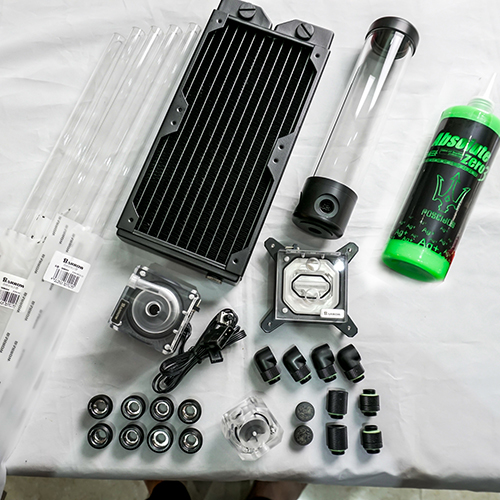 Gland Water Cooling Kit Professional 1