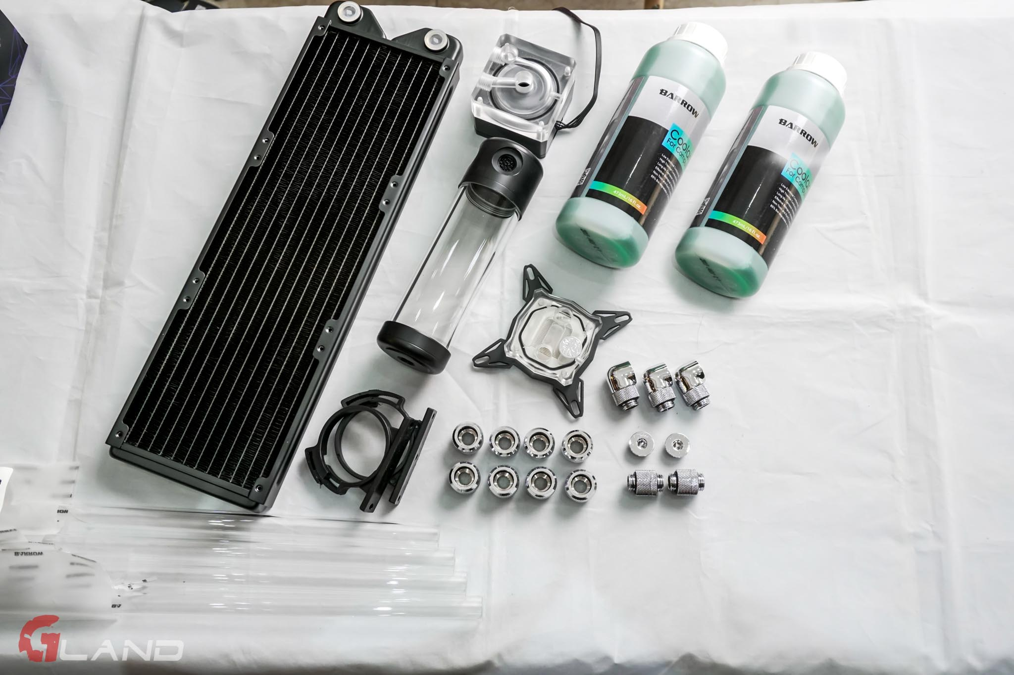 Gland Water Cooling Kit Entry 2